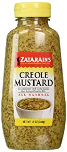 Zatarains Creole Mustard 12 Oz Squeeze, 2 Pack