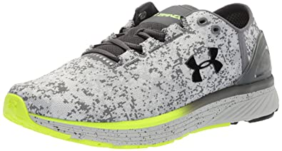 54d13220dc7b Under Armour Men s Charged Bandit 3 Digi Running Shoe Overcast  (101) Glacier Gray