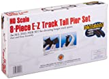 Bachmann Trains 8 PC. E-Z TRACK TALL PIER SET