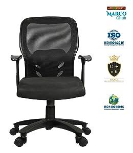 APEX Chairs MARCOZY Star Base Medium Back Office Chair