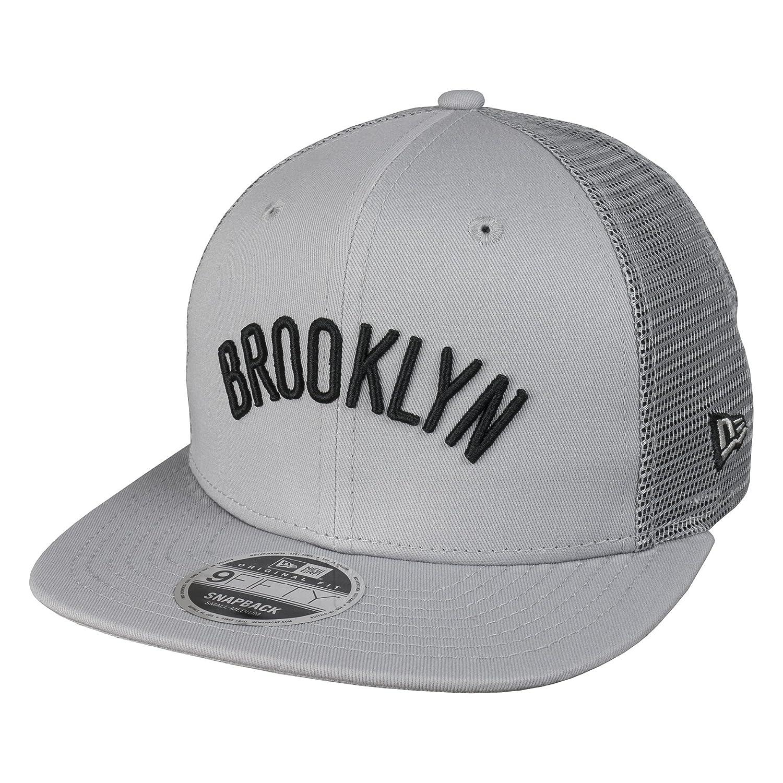 New Era 9Fifty Tamaño Orig Brooklyn Nets NBA Mesh Gris Snapback ...