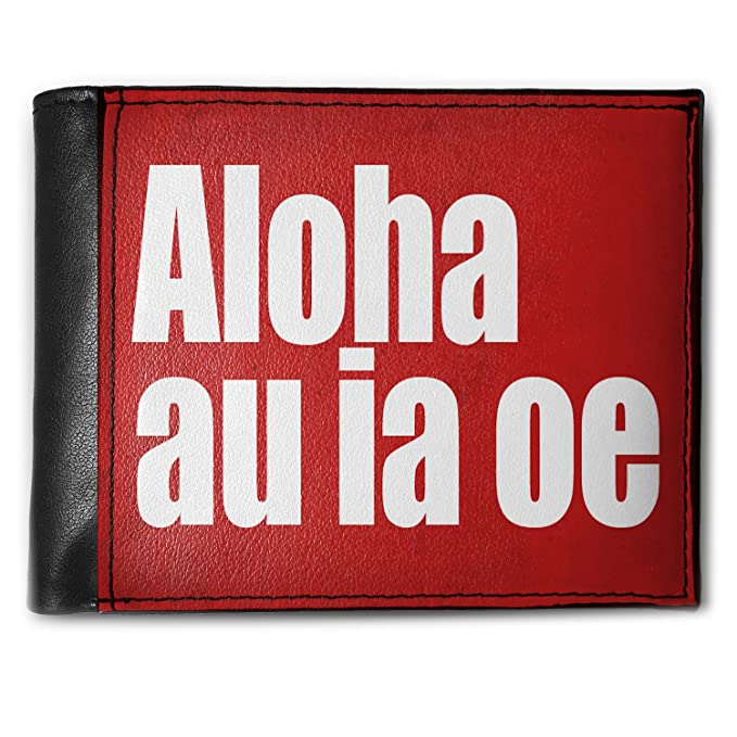 Amazon com: Wallet I Love You Hawaiian Red Rose from Haweii