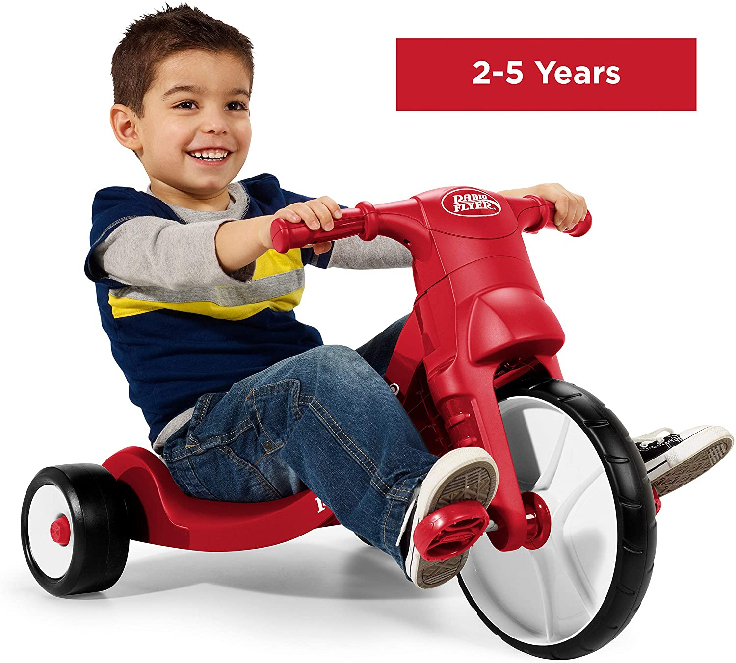 Radio Flyer Junior Flyer Trike, Outdoor Toy for Kids, Ages 2-5, Multi/None, ONE SIZE: Toys & Games