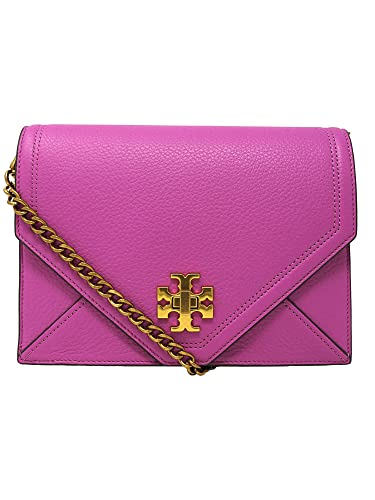 df1aa9c2ee7 Tory Burch Women s Kira Envelope Leather Crossbody Cross Body Bag - Bright  Orchid  Handbags  Amazon.com