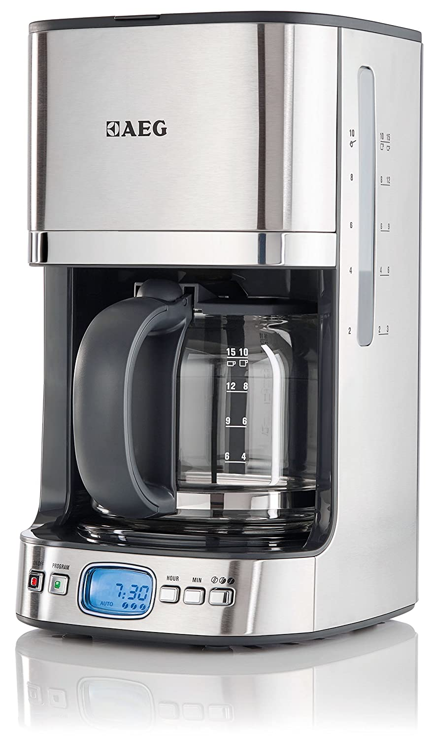 AEG KF7500 Premium Line Filter Coffee Maker, Stainless Steel, LCD Screen,  Semi Automatic: Amazon.co.uk: Kitchen U0026 Home