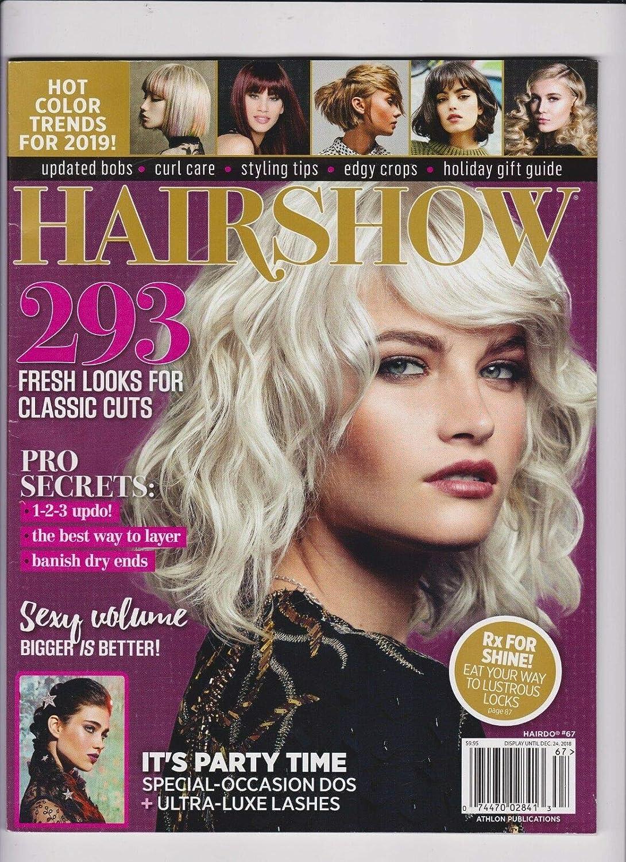 HAIRSHOW MAGAZINE #67 WINTER 2019 293 FRESH LOOKS FOR CLASSIC CUTS.