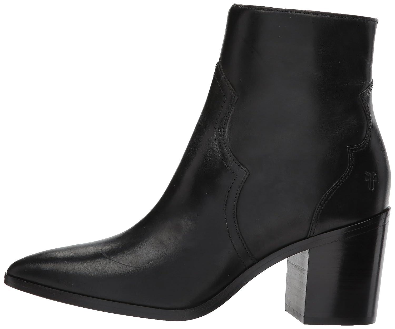 FRYE Women's Flynn Short Inside Zip Ankle Bootie B01N8184IH 6 B(M) US|Black