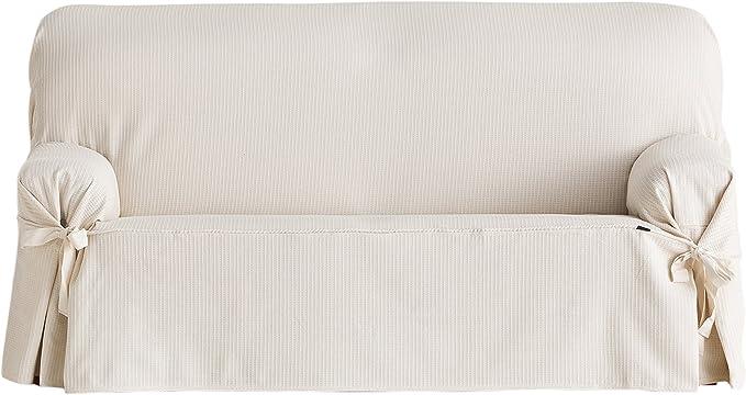 Eysa F626070 Housse de canap/é Coton Ecru 180 x 110 x 70 cm