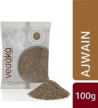 Amazon Brand - Vedaka Carom (Ajwain), 100g
