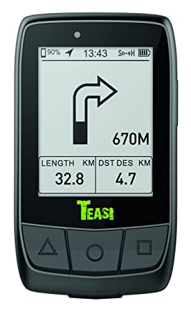 Teasi Core GPS para Ciclismo y Running, Unisex Adulto, Negro, M: Amazon.es: Deportes y aire libre