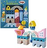 HABA Sakrada Building Blocks - 10 Piece Whimsical Play Set (Made in Germany)