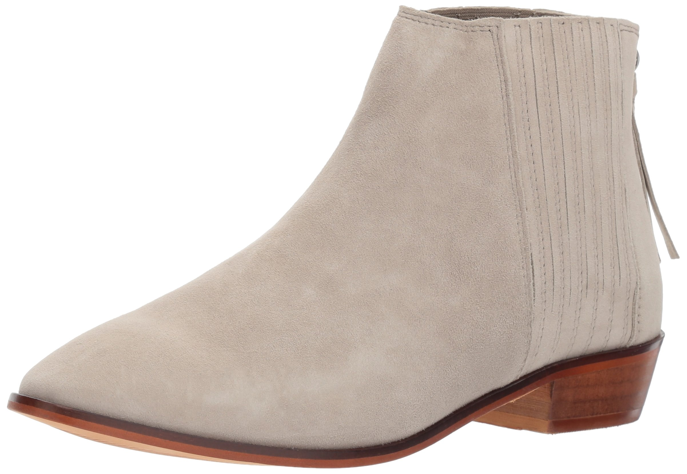 Kenneth Cole REACTION Women's Loop-y Flat Finger Gusset Suede Ankle Bootie