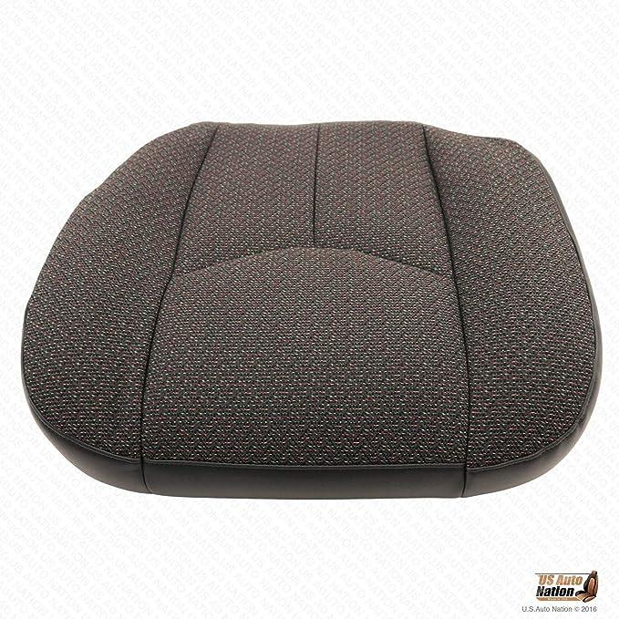 US Auto Nation Chevy Silverado 2500 2500HD Front Driver Dk Gray Seat Cloth Cover