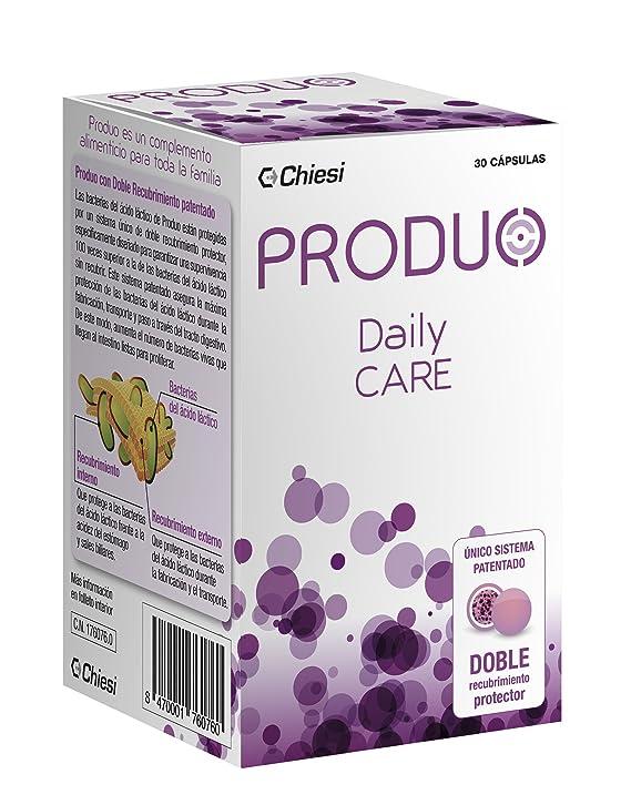 Produo Daily Care – Probiótico con doble capa protectora que contribuye al funcionamiento normal del sistema inmune – 30 comprimidos
