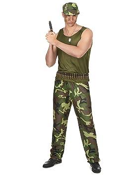 Disfraz militar hombre - Única