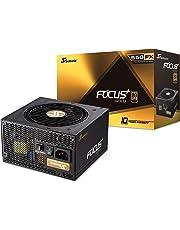 Seasonic FOCUS Plus Gold 550W (80+Gold, ATX 12V) PSU/Power Supply , SSR-550FX - Black