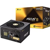 Seasonic Focus Plus - Bloc d'alimentation modulaire complet - Or 50 W - 80 Plus