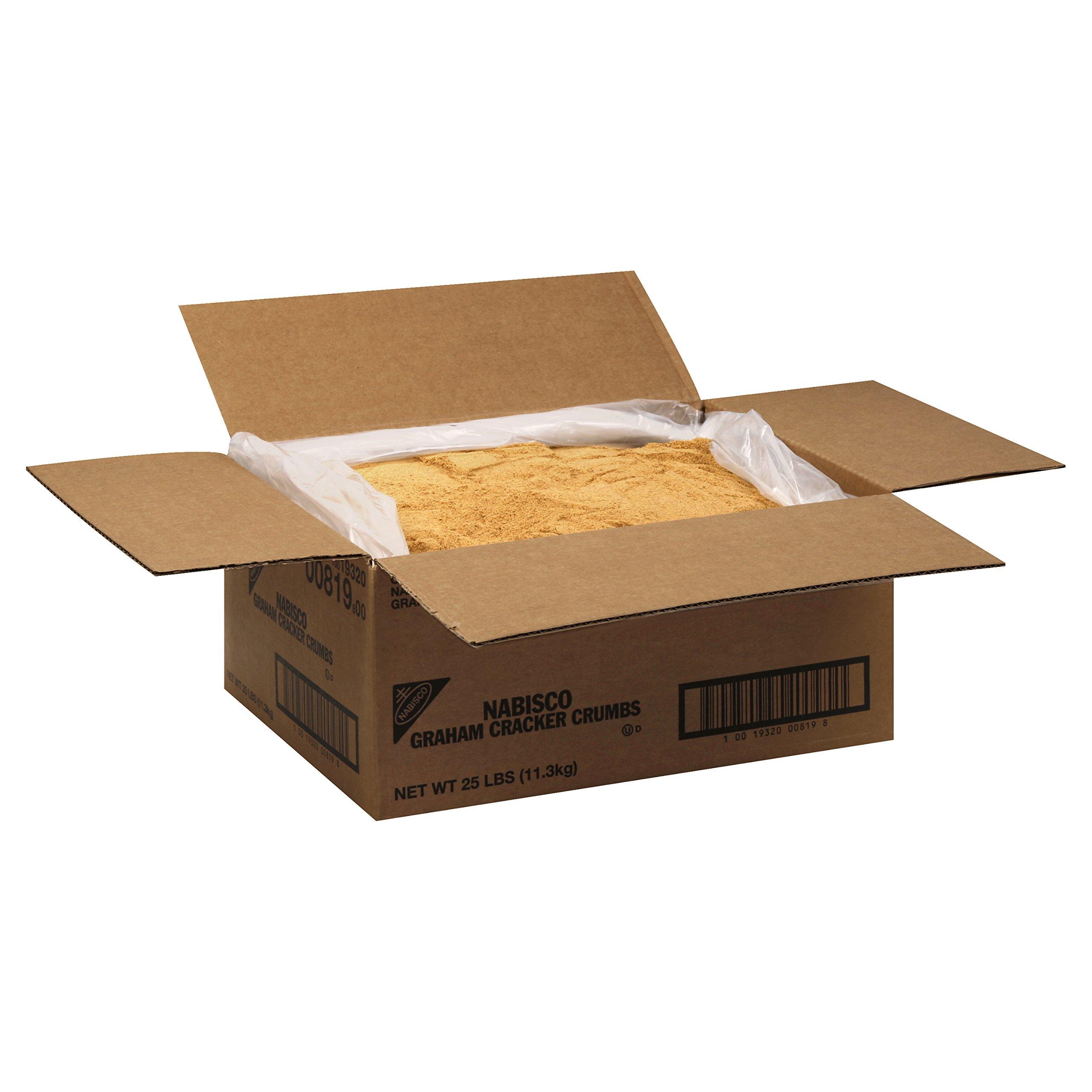 Nabisco Graham Crackers Crumbs, 25 lb Box by Nabisco