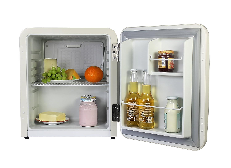 Mini Kühlschrank Vintage : Vintage industries mini retro kühlschrank miami in creme