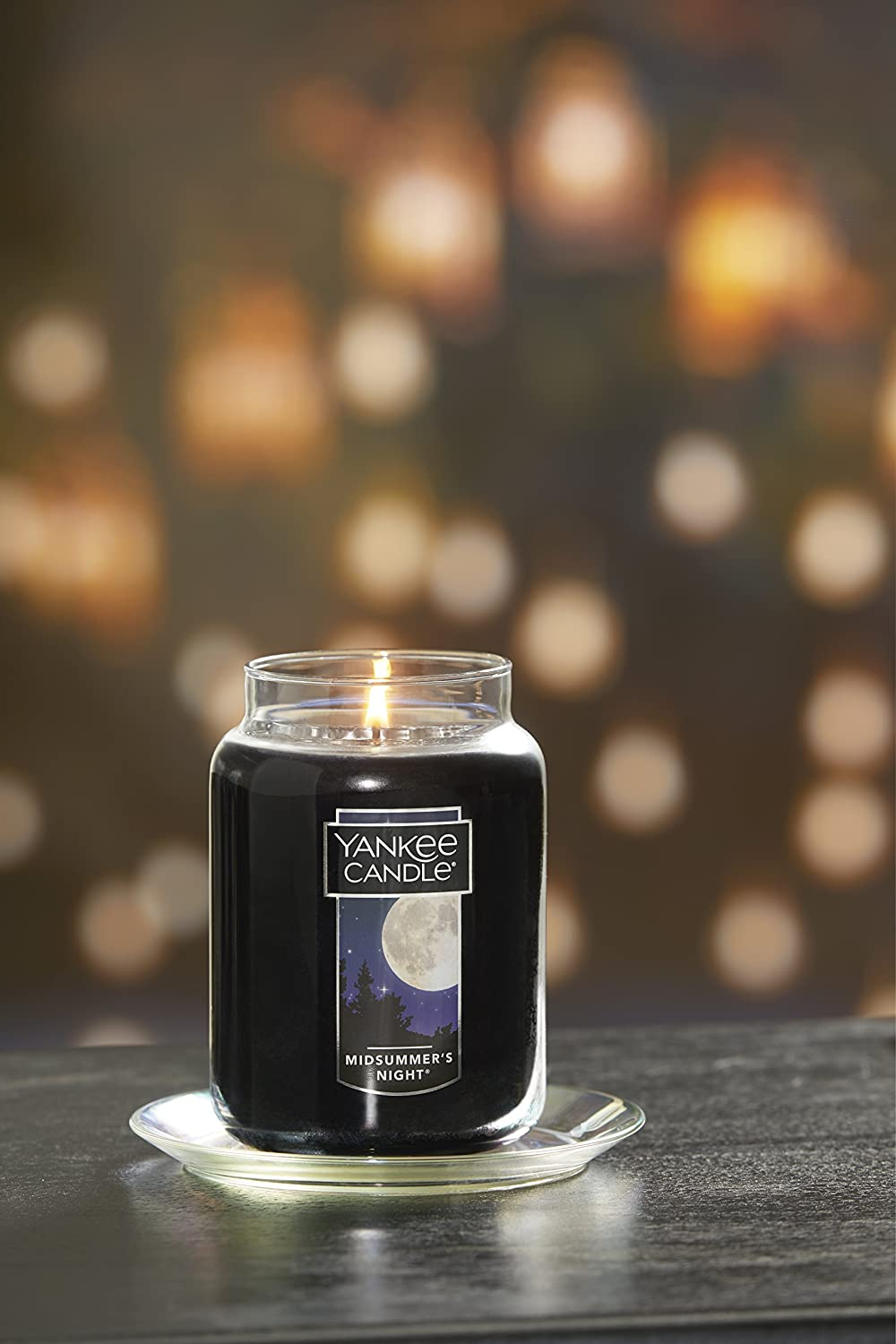 Yankee Candle Large Jar Candle Midsummer's Night: Yankee Candle: Home & Kitchen