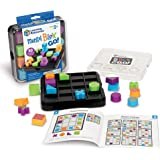 Learning Resources Mental Blox Go!, STEM, 30 Portable Problem Solving and Imaginative Games & Puzzles, Ages 5+