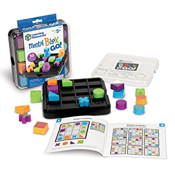 Learning Resources Mental Blox Go, 20 Pieces