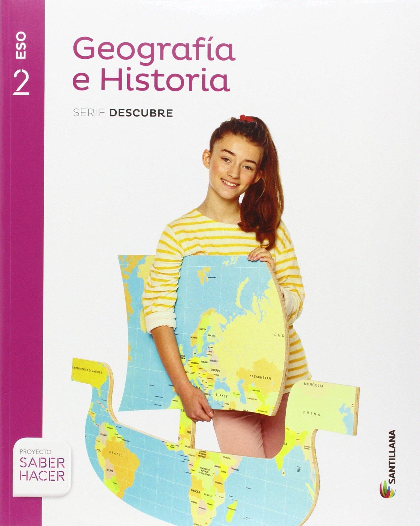 GEOGRAFIA E HISTORIA SERIE DESCUBRE 2 ESO SABER HACER ...