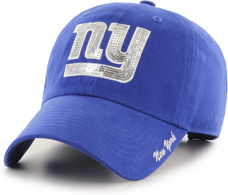 NFL Womens OTS Team Color Sparkle Challenger Adjustable Hat