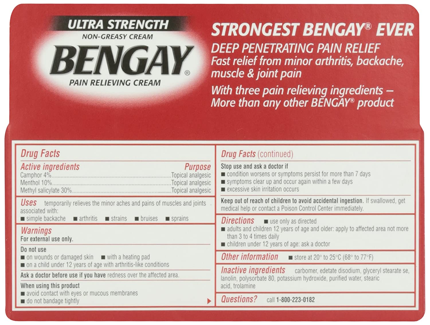 Ben Gay For Muscle Strain