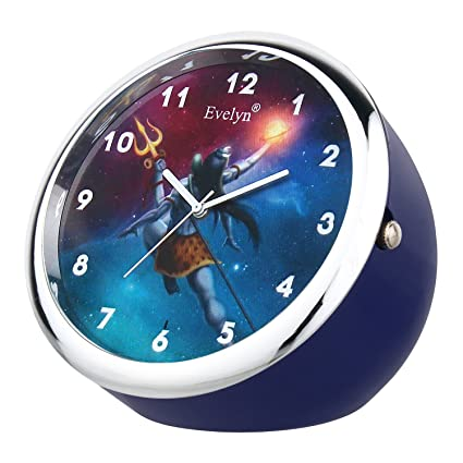 Evelyn Analog Table Clock & Car Dashboard Time Clock Quartz Watch Size 45mm EVT-29