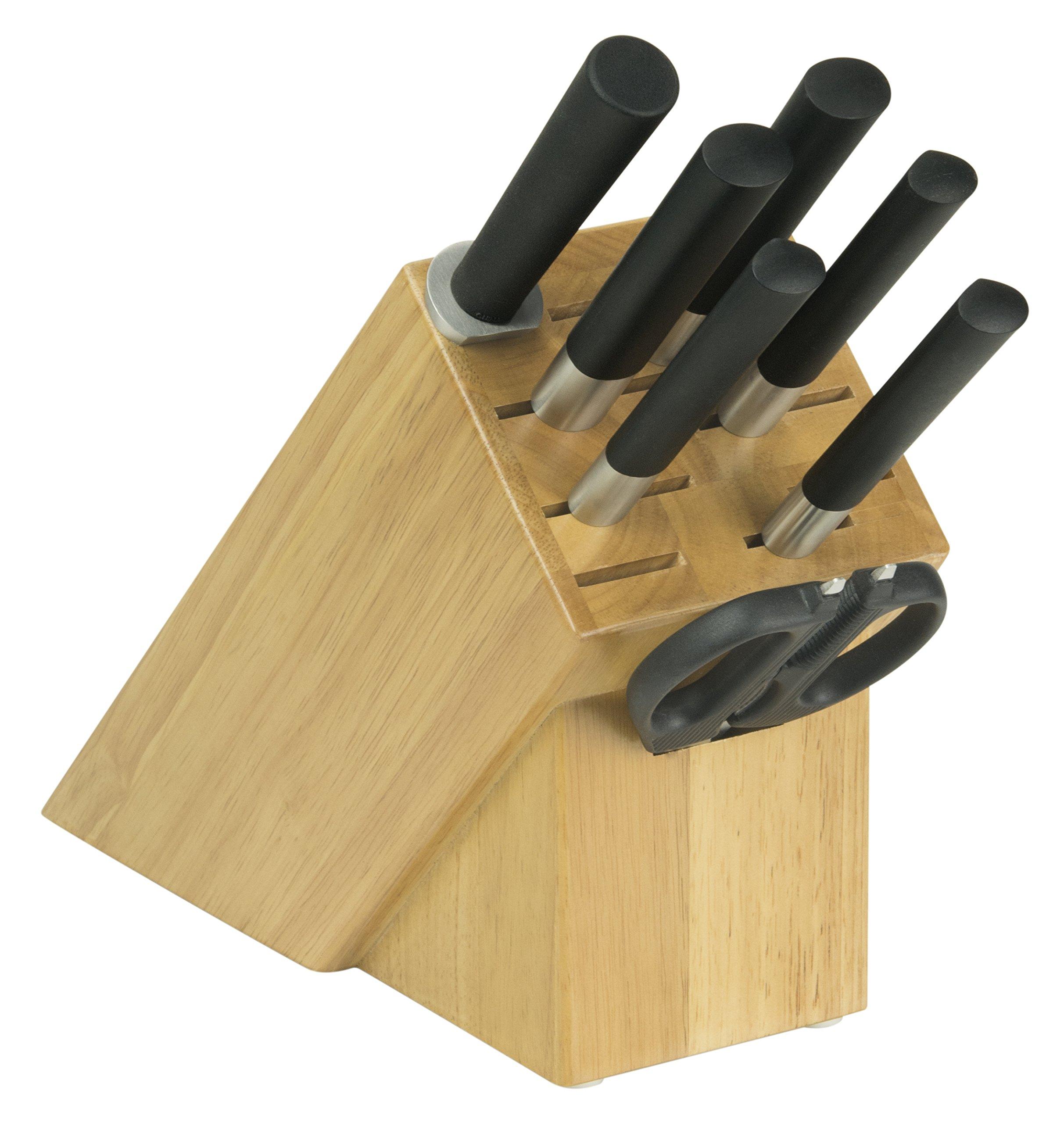 Wasabi WBS0800 Kai Wasabi Black 8-Piece Knife Block Set