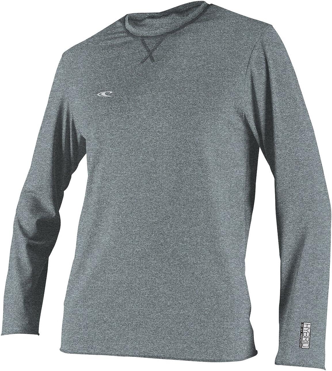 O'Neill  Men's Hybrid UPF 50+ Long Sleeve Sun Shirt: Clothing