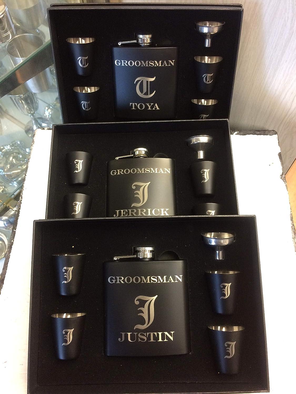 Amazon Com Groomsmen Gift Set Of 9 Groomsmen Gift Groomsmen Gift