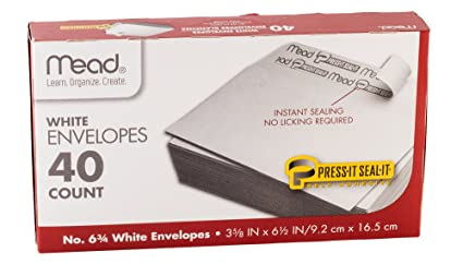 amazon com 40 easy seal mailing envelopes great direct mail office