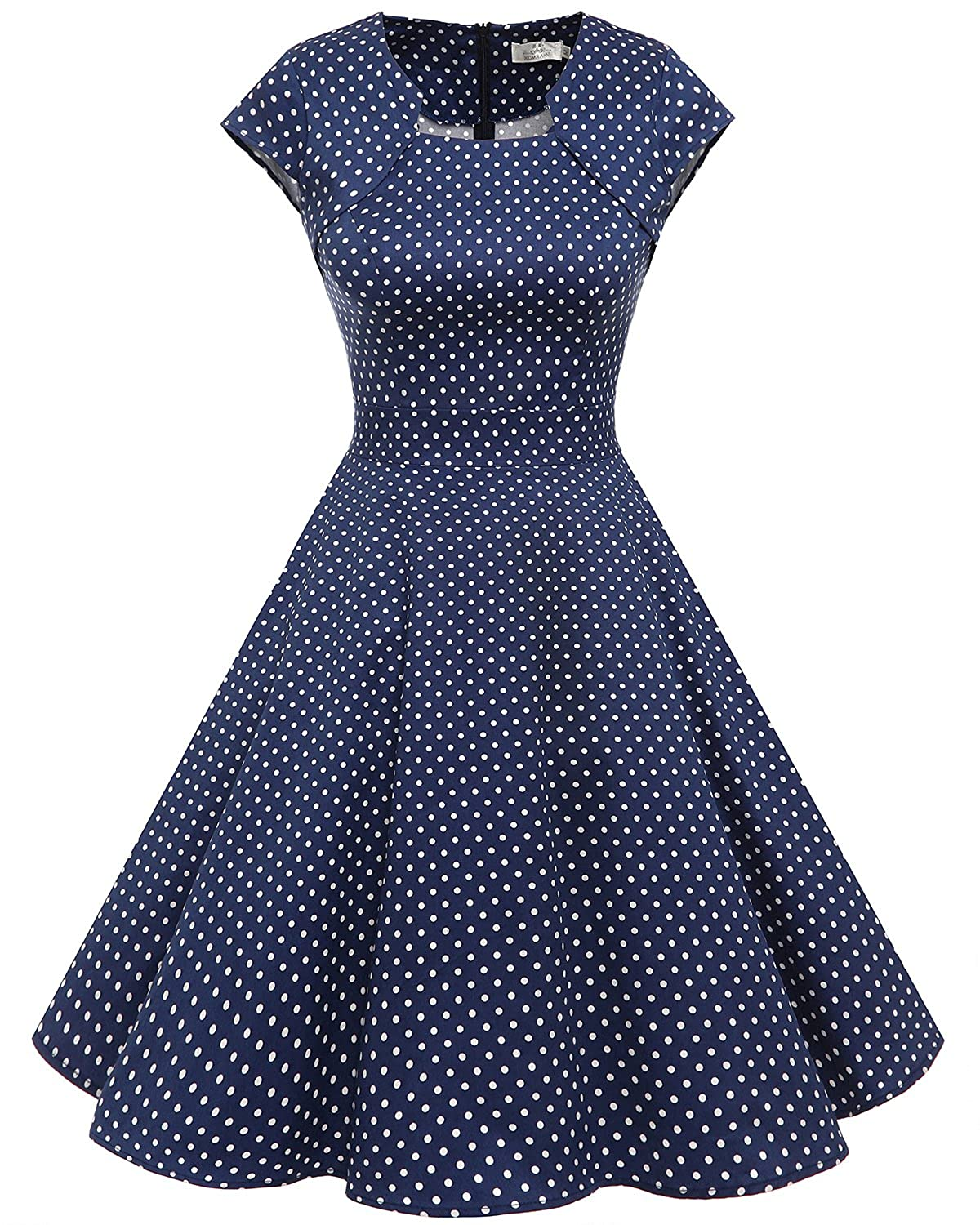 Homrain DRESS Dot レディース B077ZJLJNT White XL|Navy Small White Dot XL|Navy Navy Small White Dot XL, ファストゴルフ:9e81b521 --- nutrispace.dominiotemporario.com