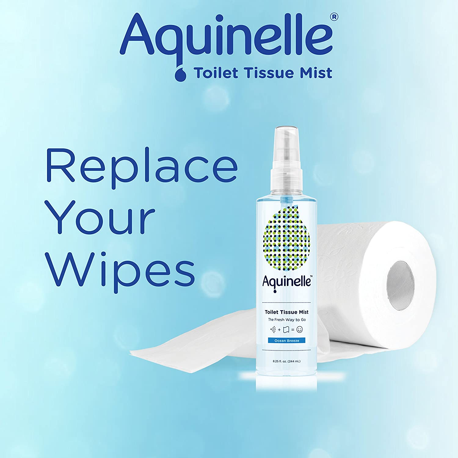 Amazon.com: Aquinelle Toilet Tissue Mist , Eco-Friendly & Non ...