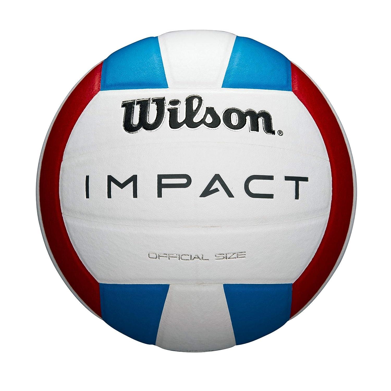 Wilson WTH10119XB Pelota de Voleibol Impact Cuero sintético ...