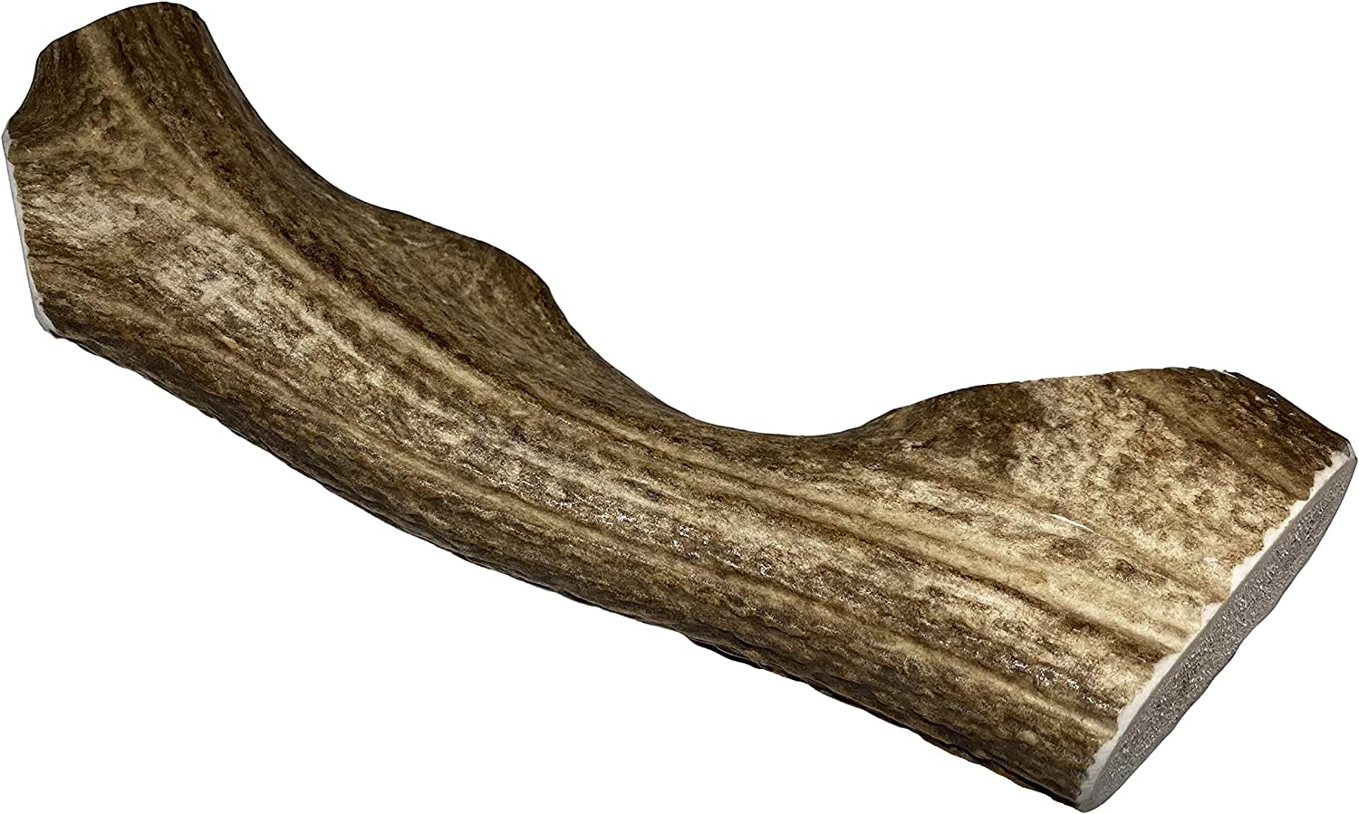 Elkhorn Premium Chews - Monster Whole (for 90+ lb Dogs) Premium Grade Elk Antler Dog Bone - Single Pack (1 Piece) - Long Lasting Chew Toy from Natural Shed Elk Antlers Sourced in The USA