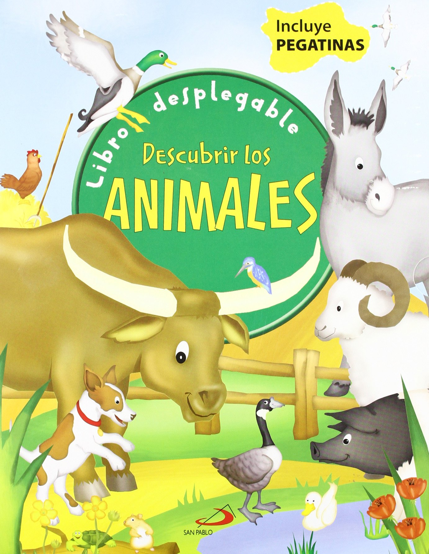 Descubrir los animales. Libros desplegable (Spanish) Hardcover