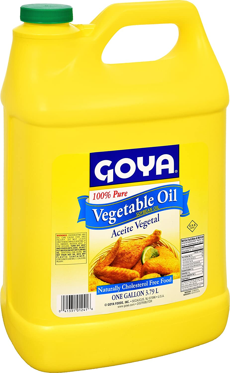 Amazon.com : Goya Foods Vegetable Oil, 128 Fluid Ounce (pack of 6) : Gourmet Oils : Grocery & Gourmet Food