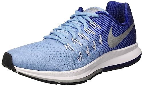 half off 60b46 208a4 Nike Zoom Pegasus 33 (GS), Zapatillas de Running para Niñas Amazon.es  Zapatos y complementos