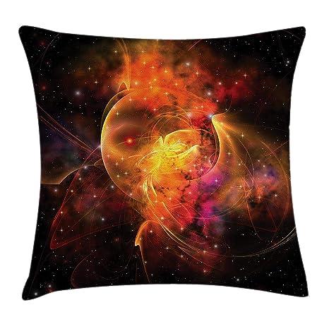 shizh Funda de cojín Espacio Exterior Nebulosa Formando ...