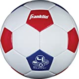 Franklin Sports Size 4 USA Soccer Ball, Red, White, Blue