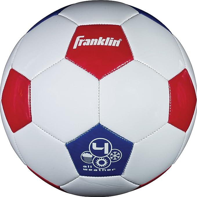 Amazon.com: franklin sports tamaño 4 EE. UU. Balón de fútbol ...