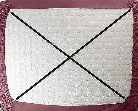 cczz tensores para sábana con pinzas metálicas Alargar Ajustable cama Toalla Tensor elástica Tensor para todos