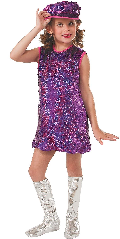Amazon Rubie Pink Mod Girl Costume Child Medium Toys Games