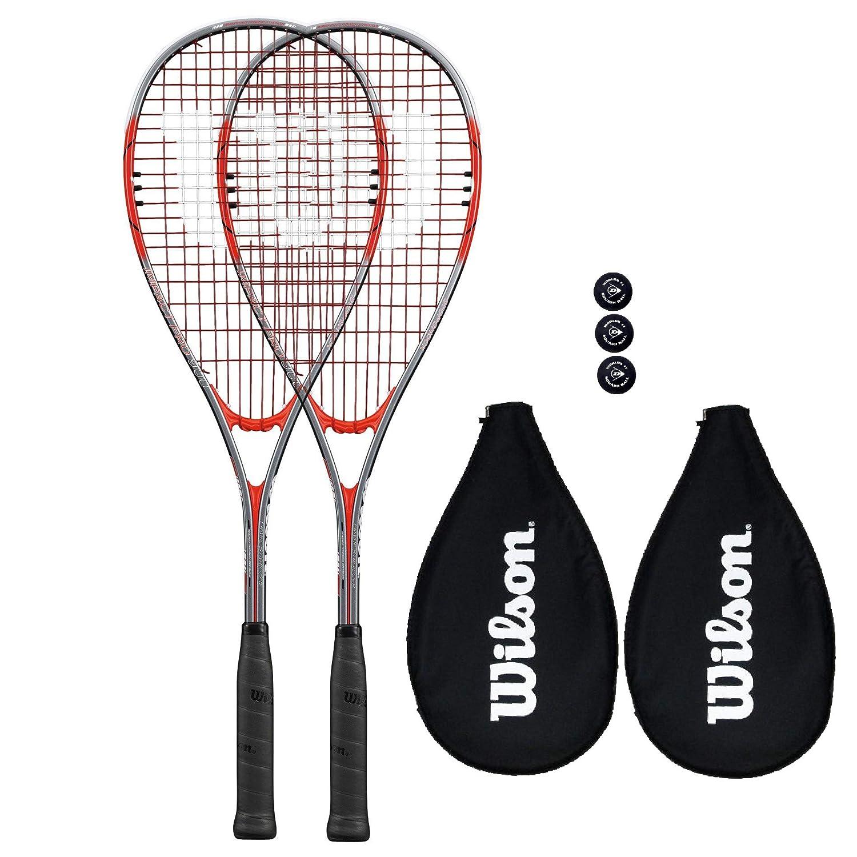 Balls Wilson Impact Pro 900 Squash Racket Various Options