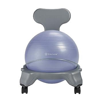 Wondrous Amazon Com Gaiam Kids Balance Ball Chair Classic Kids Caraccident5 Cool Chair Designs And Ideas Caraccident5Info