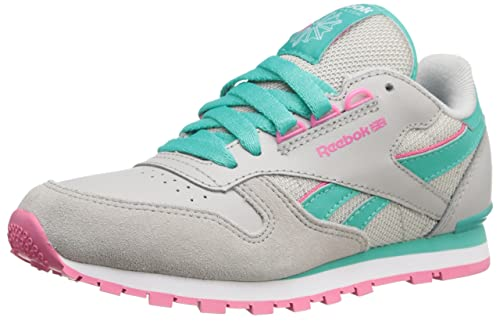 b3e66f41305766 Reebok Classic Leather Running Shoe (Infant Toddler Little Kid Big Kid)