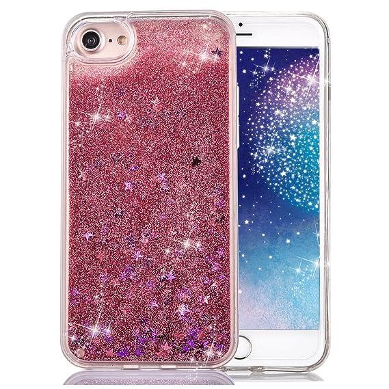 amazon com iphone 7 case crazy panda 3d creative dynamic glitter
